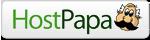 Logo Hostpapa.de Webhosting